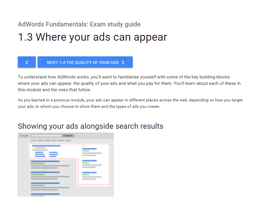 Google AdWords Partner Training Still Doesn't Think They Have Moved