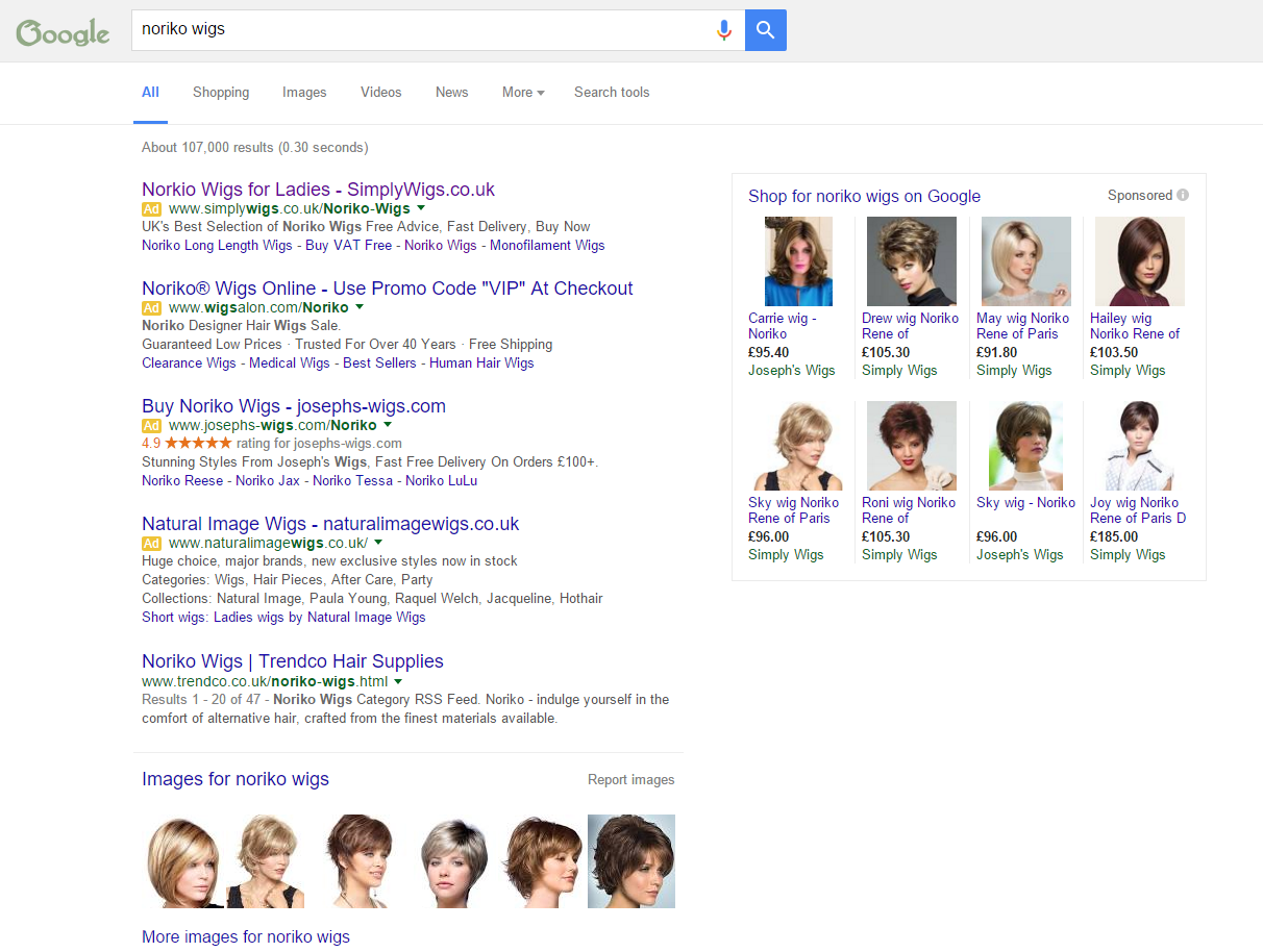 The New Google Search Ad Layout