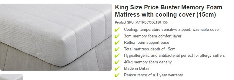 product title mattress Google Shopping Product Feed