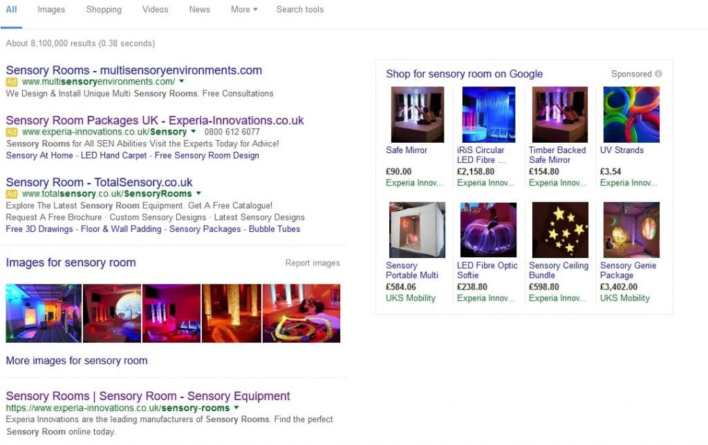 search engine results page digital strategy
