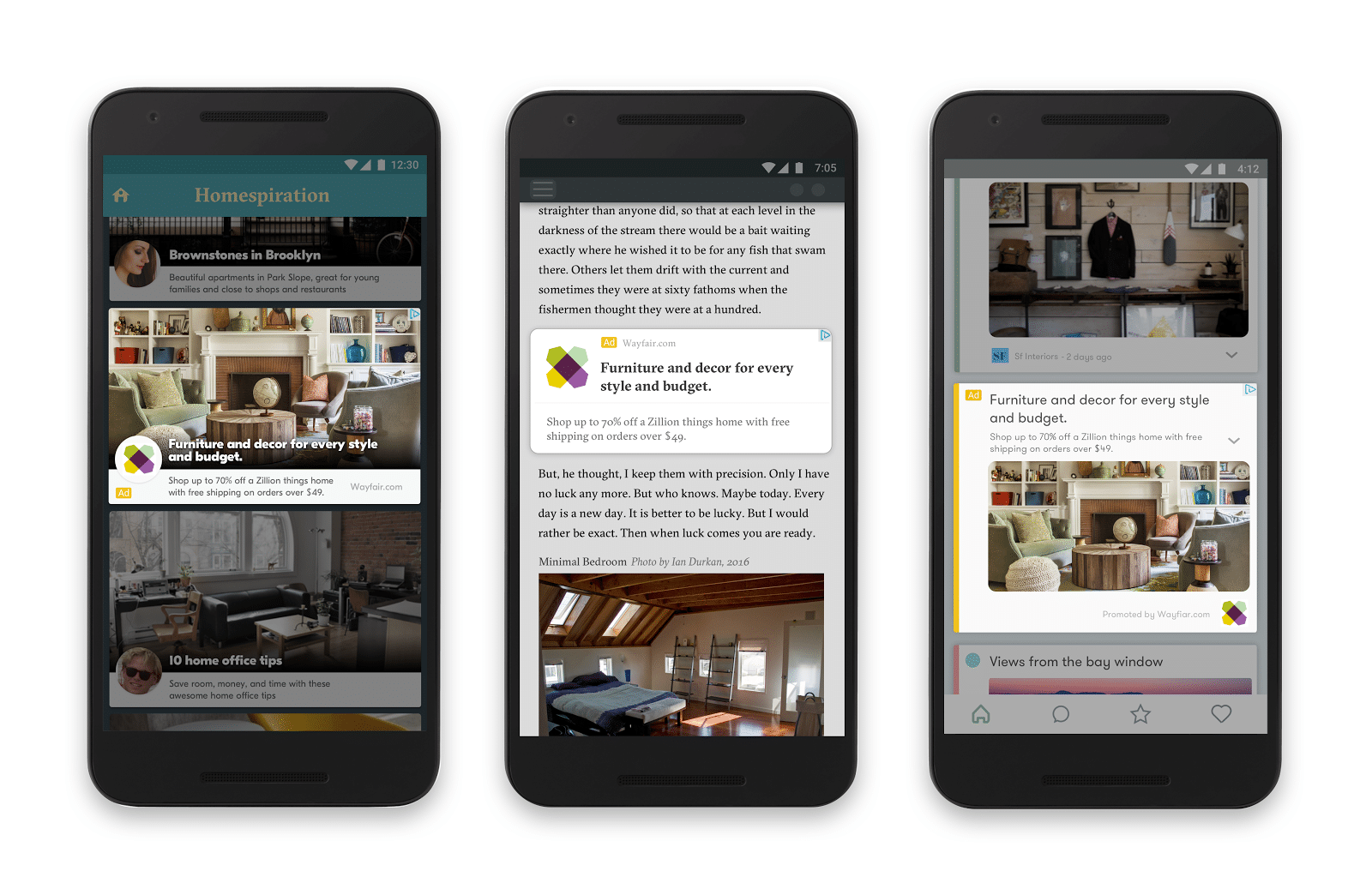 New Responsive ads for display adapt to fit any app or site on the Google Display Network