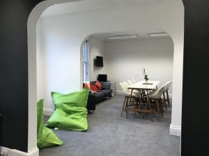 Different Seating Areas in the Zelst Office